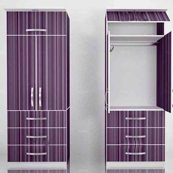 Muebles de melamina lima a medida para armar oficina for Roperos de melamina para dormitorios